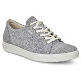 ECCO Women's Soft 7 Sneaker - Concrete / Magnet - 430003-51411 - Main Image