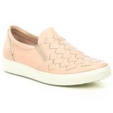 ECCO Women's Soft 7 Woven - Rose Dust - 430453-01118 - Main