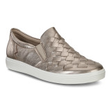 ECCO Women's Soft 7 Woven - Warm Grey - 430453-01375 - Main