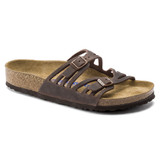 Birkenstock Granada Soft Footbed - Habana Oiled Leather (Regular Width) - Angle