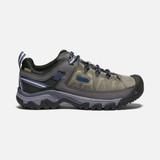Keen Men's Targhee III Waterproof - Steel Grey / Captain's Blue - Profile