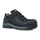 Bogs Men's Foundation Low Comp Toe - Black - 72235CT-001 - Angle