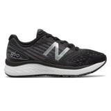 New Balance Kid's 860v9 Grade School Running - Black / White - KJ860TBY - Profile