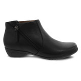 Dansko Women's Fifi Bootie - Black Milled Napa - 5504-020200 - Profile1