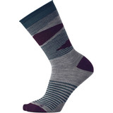 Smartwool Women's First mate Non-Binding Crew Socks - Light Gray Heather - SW003696833