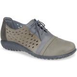 Naot Women's Lalo Sneaker - Grey / Vintage Slate Nubuck - 11141-NKN - Main Image