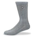 Sky Footwear Stormy Gray Knit Crew Socks - SKY/STORMYGRAY - Main Image