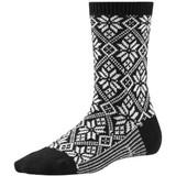 Smartwool Women's Traditional Snowflake Sock - Black - SW0SW524-001