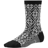 Smartwool Women's Traditional Snowflake Sock - Black - SW0SW524-001