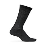 Feetures Therapeutic Cushion Crew Socks - Black - F100301