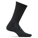Feetures Cushion Crew Socks - Black - FA1001 - Main Image