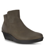 ECCO Women's Skyler Wedge Bootie - Warm Grey - 286013-02375 - Main