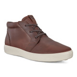 ECCO Men's Soft 7 M Chukka Boot - Brandy - 440374-02280 - Angle