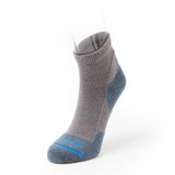 FITS Light Hiker Quarter Sock - Titanium - F1003-077