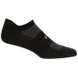 Feetures High Performance Ultra Light No Show Tab Sock - Black - FA5501