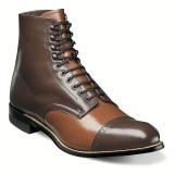 Stacy Adams Men's Madison Cap Toe Boot - Oak Multi - 00015-234 - Angle