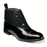 Stacy Adams Men's Madison Cap Toe Size Zip - Black - 00083-001 - Angle
