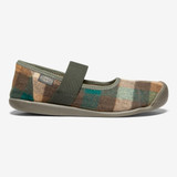 KEEN Women's Sienna Mary Jane Plaid - Brown / Climbing Ivy - 1021788 - Profile