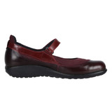 Naot Women's Kirei - Violet Nubuck / Bordeaux Leather / Rumba - 11042-RAL - Profile