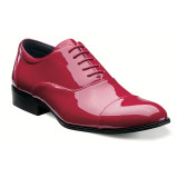 Stacy Adams Gala Cap Toe Oxford - Red - 24998-600 - Angle