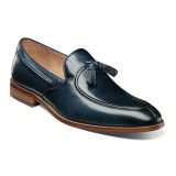 Stacy Adams Men's Donovan Moc Toe Drop Tassel - Indigo - 25232-401 - Angle