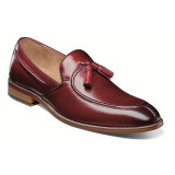 Stacy Adams Men's Donovan Moc Toe Drop Tassel - Cranberry - 25232-608 - Angle