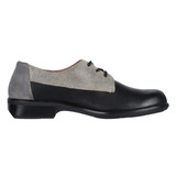 Naot Women's Kedma Derby - Black / Beige / Smoke Leather - 26010-NNL - Profile