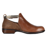 Naot Women's Kamsin Bootie - Maple Brown / Antique Brown / Pewter - 26042-SED - Profile