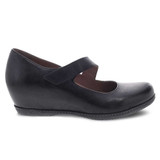 Dansko Women's Lanie - Black Burnished Nubuck - 6907-109700 - Profile