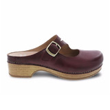 Dansko Women's Britney - Wine Waxy Burnished - 9422-881600 - Profile