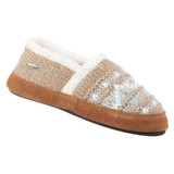 Acorn Women's Nordic Moc Slippers - Nordic Oatmeal Heather - A18605/NOH - Angle