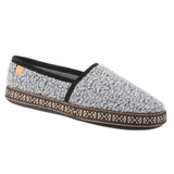 Acorn Women's Woven Trim Moccasins - Stormy Grey - A19011/STG - Main