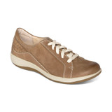 Aetrex Women's Dana Lace Up Oxford - Mocha - DM302 - Angle