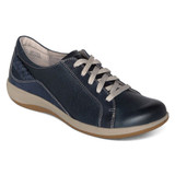 Aetrex Women's Dana Lace Up Oxford - Navy - DM305 - Main