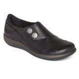 Aetrex Women's Karina Monk Strap - Black (DM500) - Main