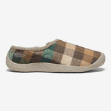 KEEN Women's Howser Slide - Brown Plaid / Brindle - 1021847 - Profile