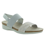 Munro Women's Pisces - Silver Metallic Leather - M485775 - Angle