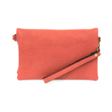 Joy Susan New Kate Crossbody Clutch - Coral