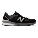 New Balance 990v5 Men's Running - Black / Silver - M990BK5 - Profile