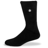 Sky Outfitters Classic Athletic Socks - Black - SKY/CLASSICBLK