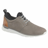 ohnston & Murphy Men's XC4® Prentiss Plain Toe - Gray WP Nubuck - 25-294 - Profile