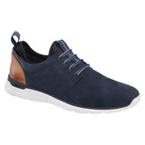 Johnston & Murphy Men's XC4® Prentiss Plain Toe - Navy WP Nubuck - 25-2949 - Main1