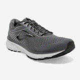Brooks Men's Ghost 12 - Black / Pearl / Oyster - 110316-075 - Angle