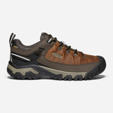 Keen Men's Targhee III Waterproof - Chestnut / Mulch - 1023027 - Profile