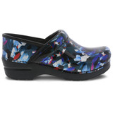 Dansko Women's Professional - Graphic Floral Patent - 706-690202 - Profile