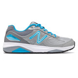 New Balance 1540v3 Women's Stability Motion Control - Silver / Polaris - W1540SP3 - Profile