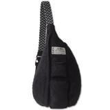 Kavu Rope Puff Bag - Black - Front