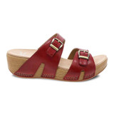Dansko Women's Leeann - Red Burnished Calf - 1824-220600 - Profile