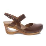 Dansko Women's Taci Sandal - Tan Waxy Calf - 3413-371500 - Profile1