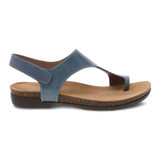 Dansko Women's Reece Sandal - Denim - 6024-725300 - Profile